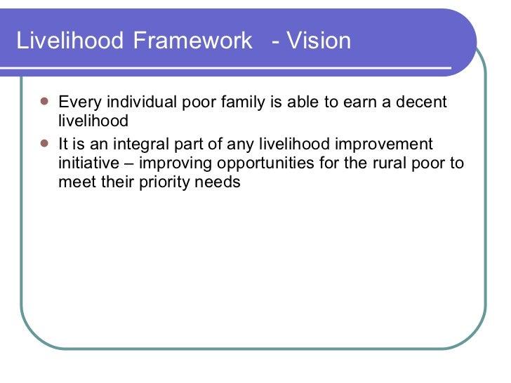 Livelihoods framework : A case of NE Upland Communities Slide 3