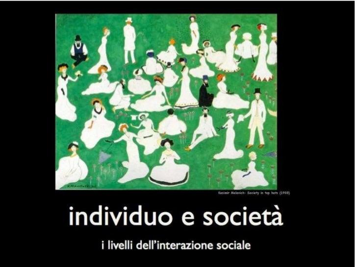 Livelli dell'interazione sociale