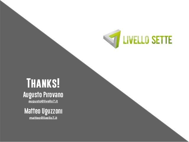 Livello 7 - presentations with a reason