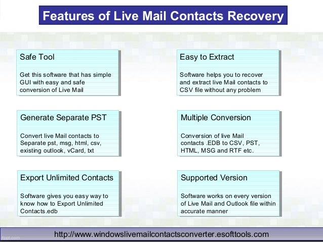 how to delete email contacts in windows live mail