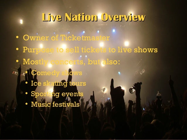 strategic management and live nation Explore live nation entertainment inc employee reviews and information on  of  project management and strategy with a major emphasis on communications.