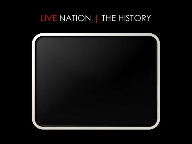 live nation case study We partnered with live nation's media and sponsorship division to make a website that was as exciting as their events see the work.
