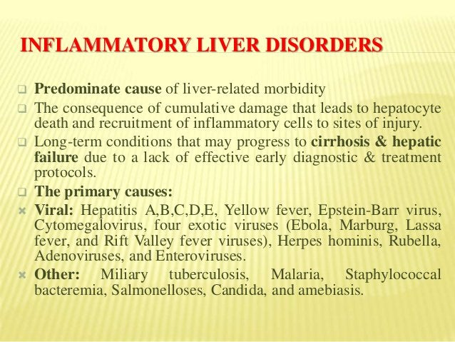 CHEMICALLY INDUCED LIVER DISORDERS