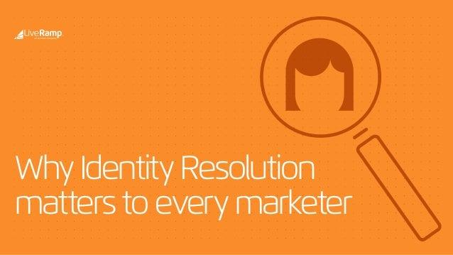 WhyIdentityResolution matterstoeverymarketer