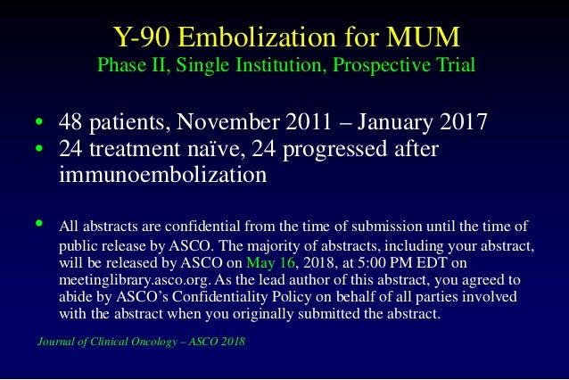 41 Y 90 Embolization