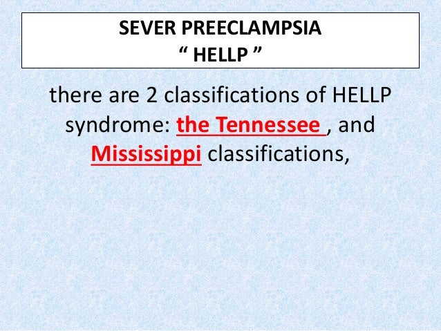 As mentioned, HELLP syndrome and AFLP share similar presentations. The differential diagnosis among AFLP and HELLP syndrom...