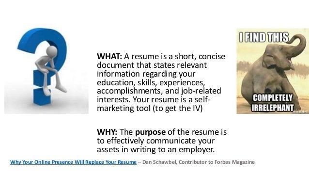 Live resume critique