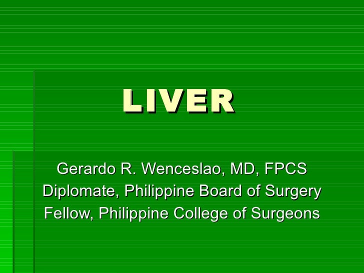 Liver gb  powerpoint