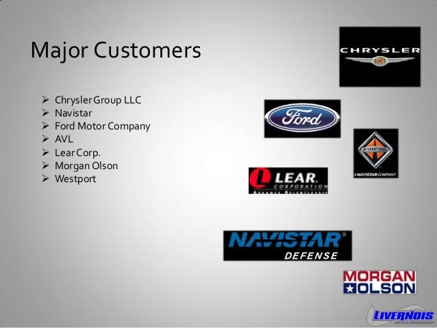 Livernois vehicle development 2013 for Ford motor company mission statement