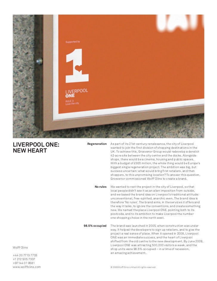 LIVERPOOL ONE:         Regeneration   As part of its 21st-century renaissance, the city of Liverpool  NEW HEART           ...