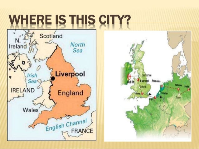 Liverpool City - Where is liverpool