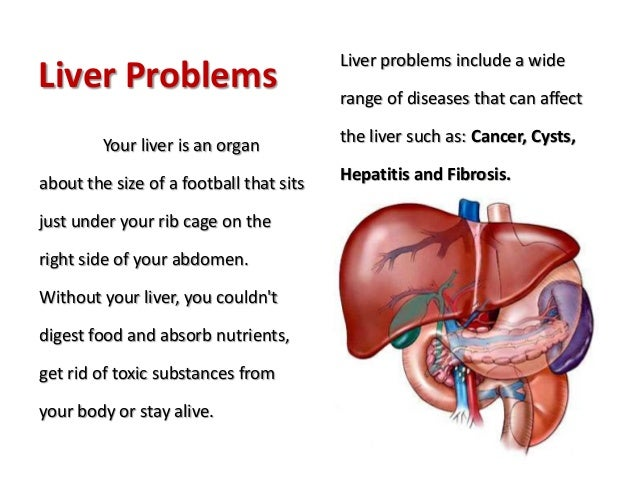 liver problems, Cephalic Vein