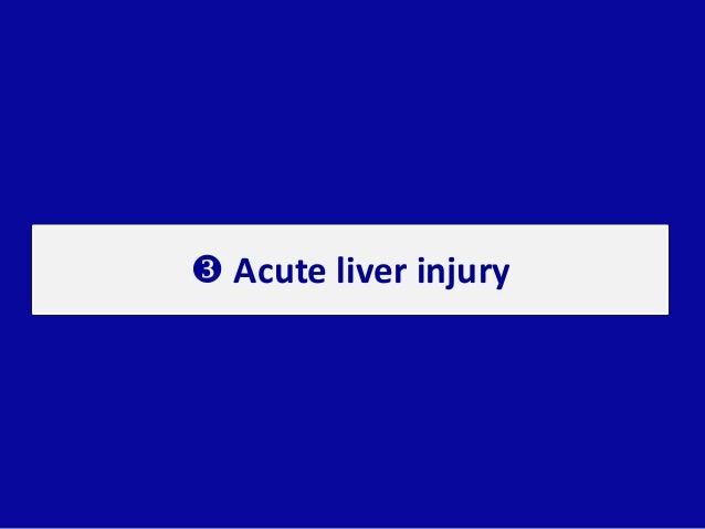  Acute liver injury