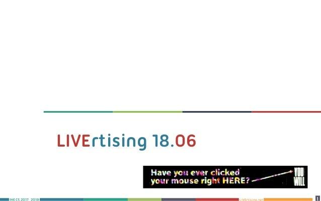 LIVErtising.net 1 10 LIVErtising 18.06