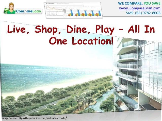 WE COMPARE, YOU SAVE www.iCompareLoan.com SMS: (65) 9782-8606 Image Source: http://theparksuites.com/parksuites-condo/