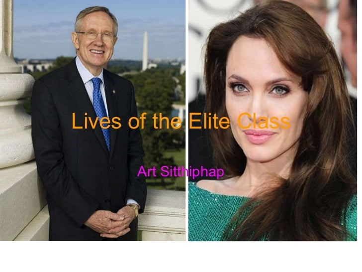 Lives of the Elite Class Art Sitthiphap