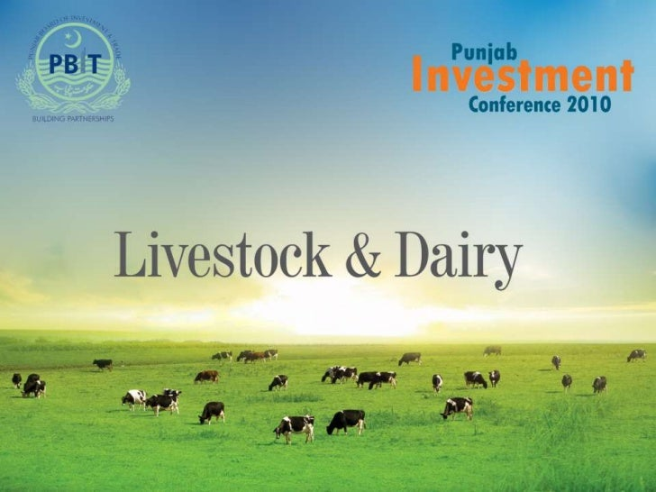 Overview of Livestock Sector