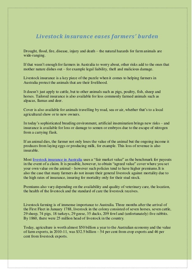 d2c18790507 Livestock Insurance in Australia