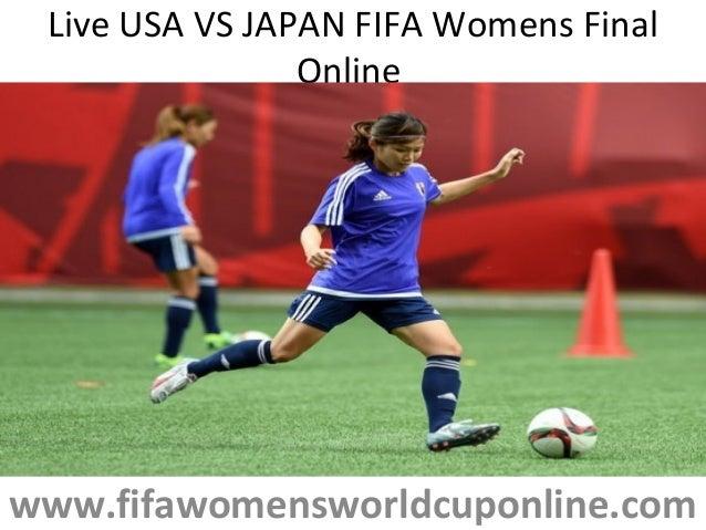 Live USA VS JAPAN FIFA Womens Final Online www.fifawomensworldcuponline.com