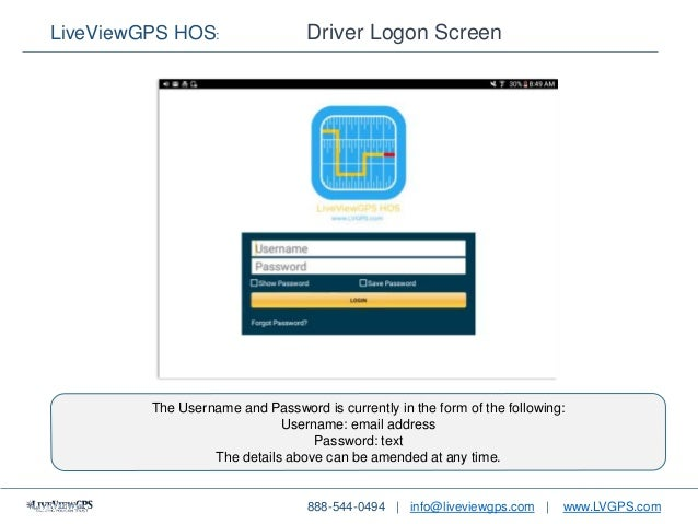 How To Use The LiveViewGPS Hours of Service (HOS) Android App V2 0