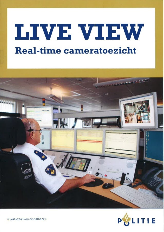 Live View real time cameratoezicht