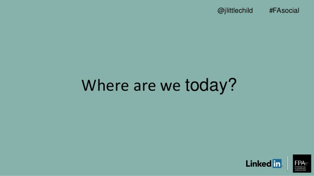 Where are we today? #FAsocial@jlittlechild