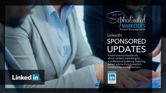 Phil Han LinkedIn, Associate Product Marketing Manager, Sponsored Updates Chris Bolman Percolate, Director of Integrated M...