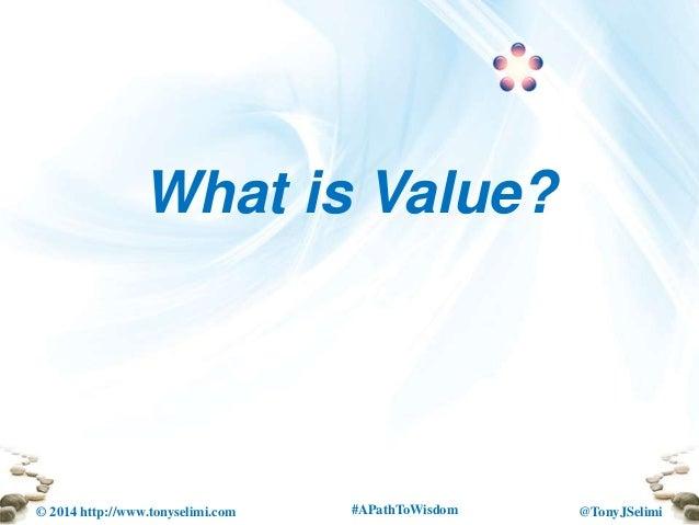 Live your passion increase your income animas institue talk tony j selimi Slide 2