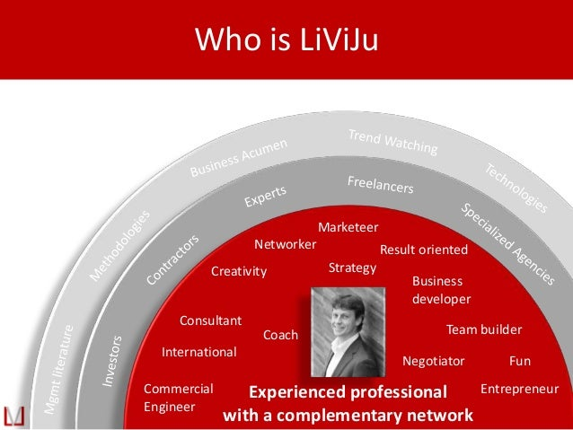 Who is LiViJu Experienced professional with a complementary network Commercial Engineer Consultant International Result or...