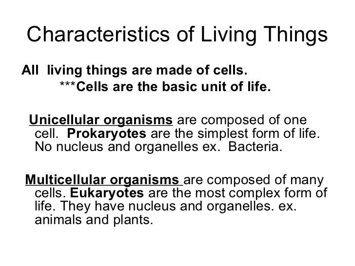 non living cells