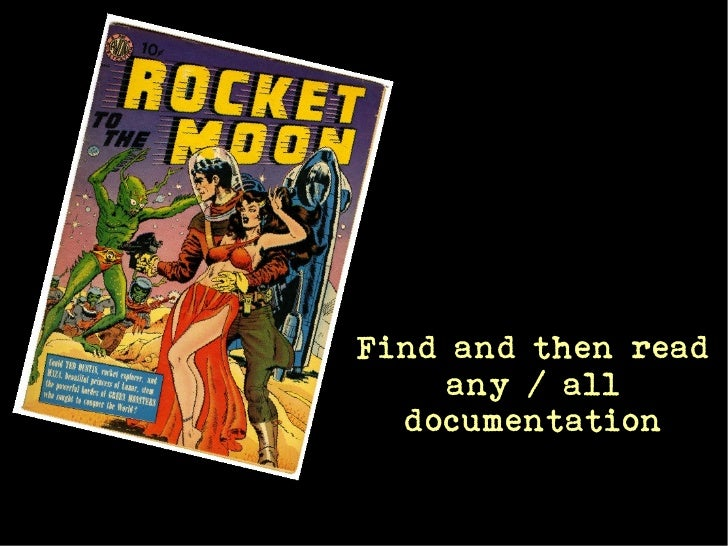 Find and then read     any / all  documentation
