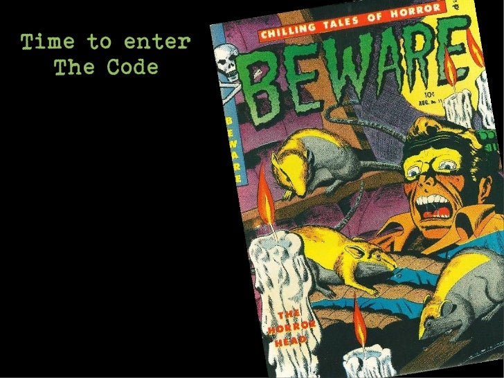 Time to enter  The Code