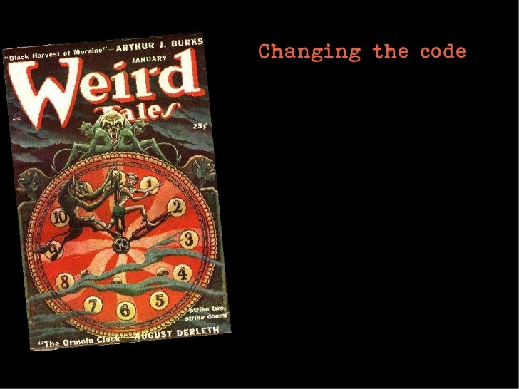 Changing the code