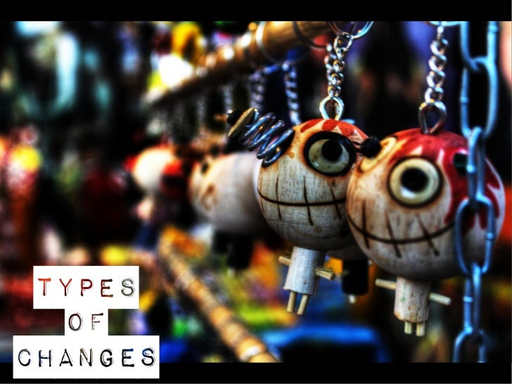 Types   ofchanges