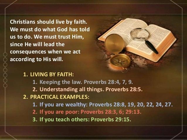 Living By Faith 11
