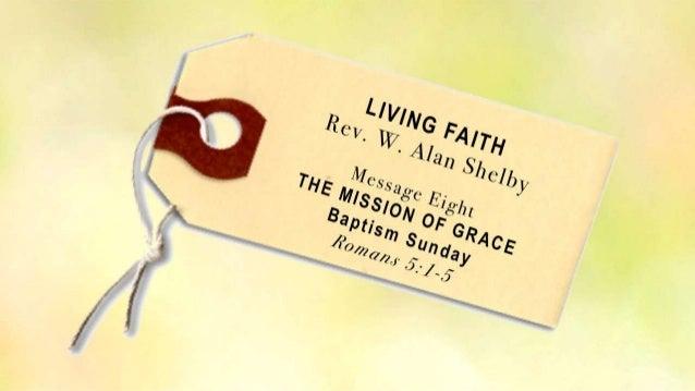 Living faith 8 rom 5 1 5 slides 110313