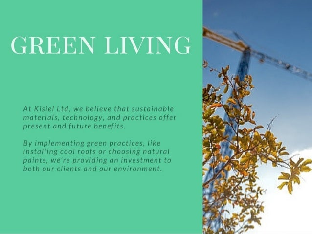 Living Green Guide: After The Build Slide 3