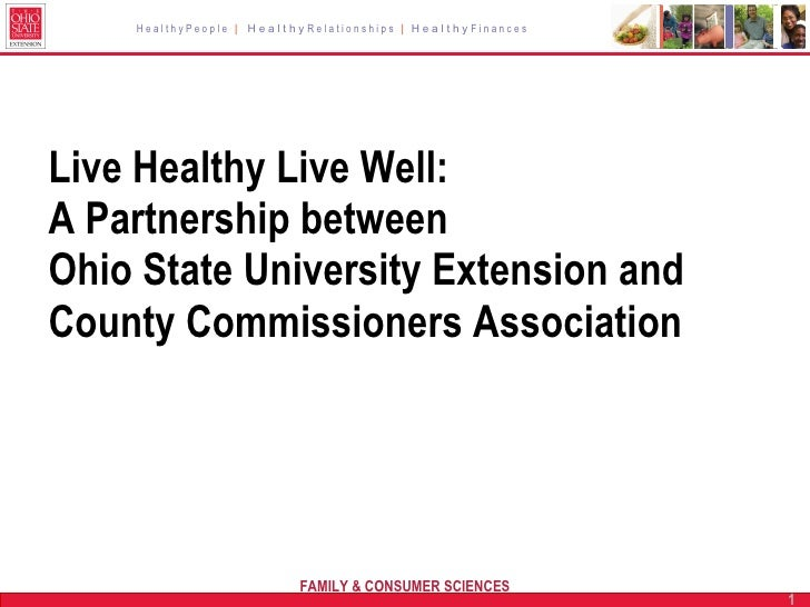 HealthyPeople | HealthyRelationships | HealthyFinances     Live Healthy Live Well: A Partnership between Ohio State Univer...