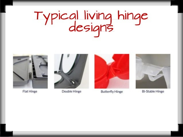 living hinge design guide pdf