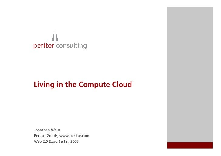 Living In The Compute Cloud
