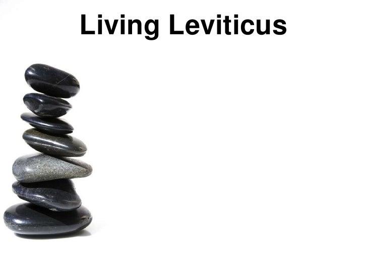 Living Leviticus<br />