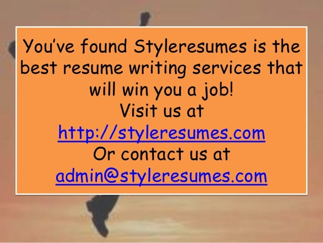 11. Youu0027ve Found Styleresumes Is The Best Resume Writing Services ...