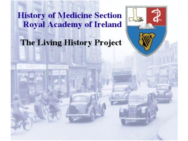 Living medical history project