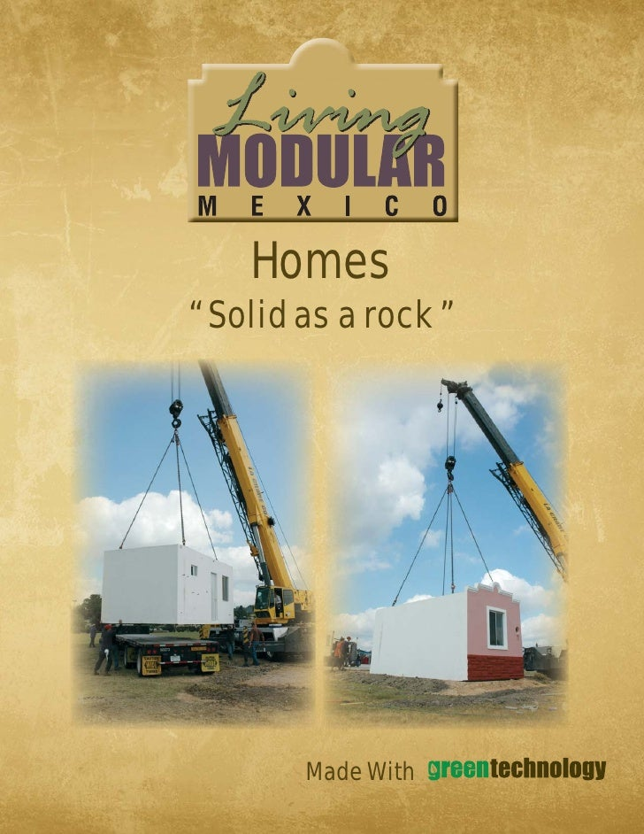 "Homes "" Solid as a rock ""             Made With"