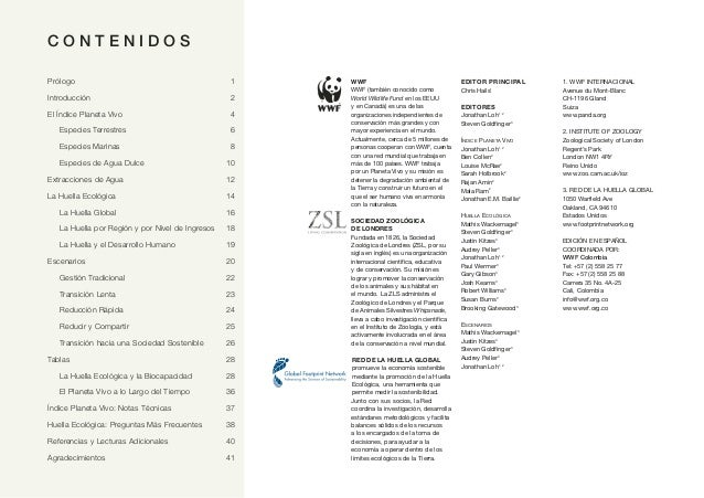 Texto 2: Informe Planeto Vivo 2012 Slide 2