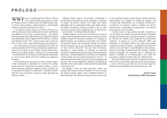 Texto 2: Informe Planeto Vivo 2012 Slide 3