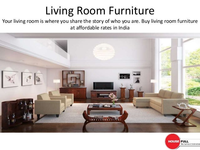 Buy Living Room Furniture online in India at Housefullcoin