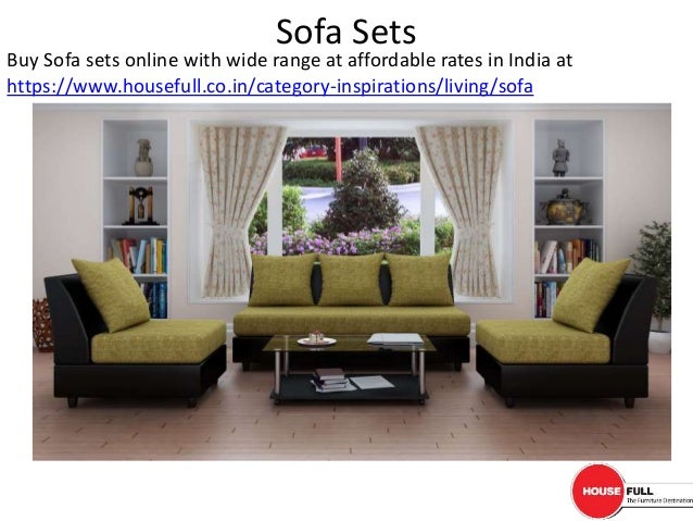 Cheap living room furniture online 3 sofa sets buy for Cheap home furniture online india