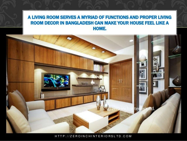 Living Room Interior Design In Dhaka