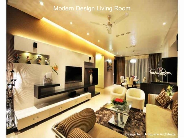 Modern Design Living Room By B Square Architects